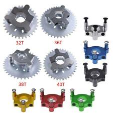 """32-40T Sprocket&1.5"""" Colorful Adapter For 415 chain 80cc 2 Stroke Motorized Bike"""