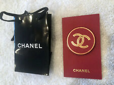 Magnetic Pin Holiday Gift. Rare. Chanel Red Plastic Brooch With