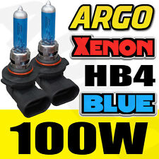 TOYOTA AVENSIS COROLLA HB4 SUPER BLUE XENON HEAD LIGHT BULBS 12V 100W