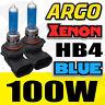 BEAM HALOGEN 8500K 2X 9006 HB4 12V 100W HEADLIGHT GAS LOW XENON LIGHT BULB BLUE