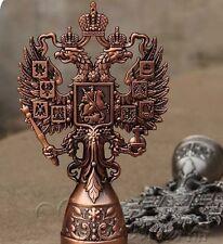 Russia Antique Decorative Vintage Tin Dicephalous Double-headed Bottle Opener-R