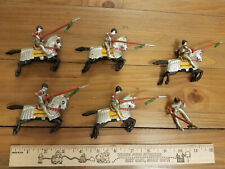 Marx Charmore Hard Plastic Knights and Cavalry
