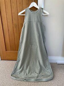 Merino Kids Go-Go Sleeping Bag, Standard Weight, 2-4 Years, Green Stripe