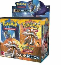Sun and Moon Booster Box Pokemon TCG Factory Sealed English, 36 Booster Packs