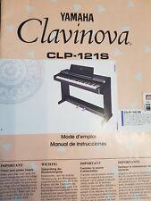piano Yamaha Clavinova CLP 121S