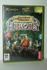 DUNGEONS & DRAGONS HEROES USATO OTTIMO XBOX EDIZIONE ITALIANA PAL FR1 41734