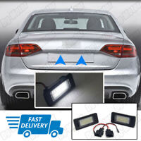 Fit For Audi A4 S4 B8 A5 S5 TT Q5 LED License Number Plate Light Error Free Bulb