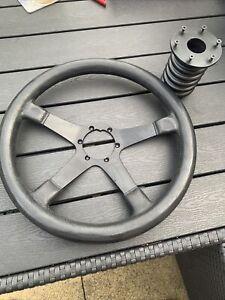 ford escort mk2 steering wheel and boss