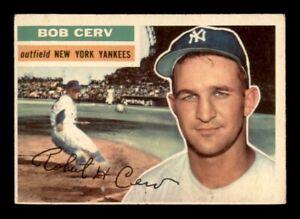 1956 Topps Set Break #288 Bob Cerv EX *OBGcards*
