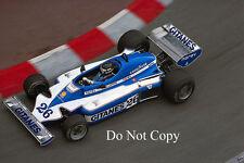 Jacques Laffite Ligier JS7 Monaco GP 1977 Photographie 1