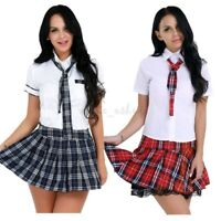Women and Girls Student Cosplay Costume School Uniform Halloween cosplay party