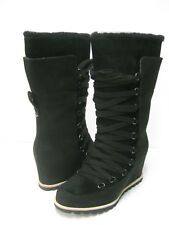 UGG MESON WOMEN TALL BOOTS SUEDE BLACK US 9.5 /UK 8 /EU 40.5