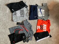 Nike Boys 2 piece basketball short sets-Brand New-Size 5 (three sets)