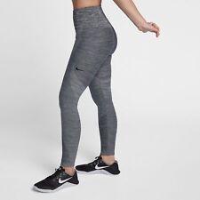 Nike WOMEN'S Power Sculpt Training Tights SIZE XS BRAND NEW Grey Tech Knit