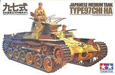 Tamiya 1:35 WWII Japanese Medium tank Type 97 Chi-Ha Plastic Model Kit #MM175