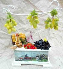 Banco con cozze, taralli, limoni e vino. Legno metallo e cera Napoli