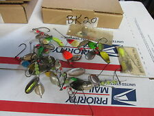 [BK20] large lot of misc. spinner fishing lures