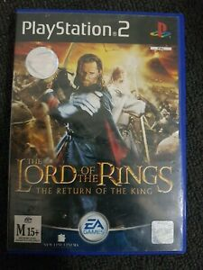 Lord Of The Rings Return Of The King PS2 PlayStation 2 - Complete With Manual