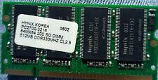 RAM HYNIX 511MB SODIMM DDR 333MHz CL2.5 PC2700S-3216