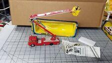 Vintage Corgi Toys Major 1127 Simon Snorkel Fire Engine in Box