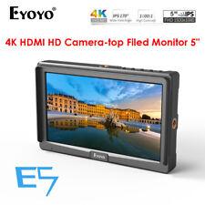 "Eyoyo 5"" Ultra FHD On-Camera Monitor IPS E5 HDMI For DSLR Panasonic Nikon Camera"
