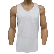 Oakley Basic Tank Size S Small White Mens Slim Fit Sleeveless Cotton Singlet