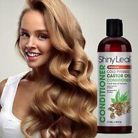Shiny Leaf Cold Pressed Castor Oil Conditioner Premium Hair Regrowth Conditioner
