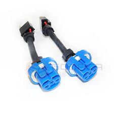 2x H4 9003 to 9007 HB5 Headlight Wiring Conversion Adapter Plug & Play