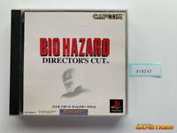BIOHAZARD DIRECTOR'S CUT PS1 Sony Playstation JAPAN Ref:310242