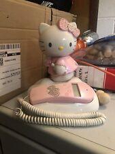 HELLO KITTY TELEFONO - Originale Sanrio - Usato in Buone condizioni .