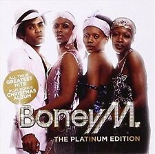 BONEY M The Platinum Edition 2CD BRAND NEW Greatest Hits & Christmas Album