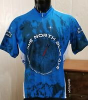 World Jerseys Cycling Jersey Due North Blue Ale Brewed In The Great Northwest XL