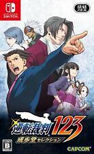 New Nintendo Switch Phoenix Wright Ace Attorney Trilogy From JAPAN