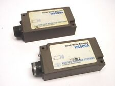 Lot of 2 Escort Datalogic Memory Systems HS500A Read/Write Antennas