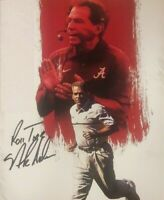 Nick Saban Autographed Signed 8x10 Photo ( Alabama Crimson Tide ) REPRINT