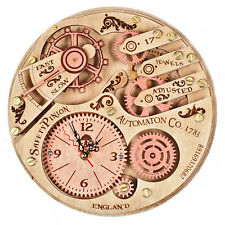 Automaton 1783 Moving Gear HANDCRAFTED moving gears unique steampunk wall clock
