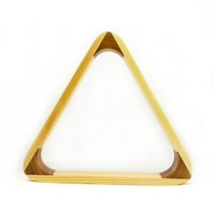 """Brand New Pool Table Accessories 2"""" Wooden Snooker Triangle (10 Reds)"""