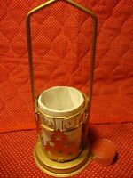 """Metal Gold Painted Christmas Tree Votive Candle Holder~9"""" Tall, Diameter 4""""  327"""