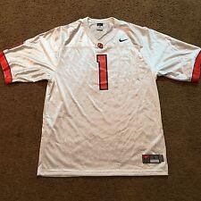 Nike Oregon State Athletic Jersey Authentic Team Large White Orange
