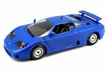 Bugatti EB110, Blue - Bburago 22025BU - 1/24 Scale Diecast Model Toy Car