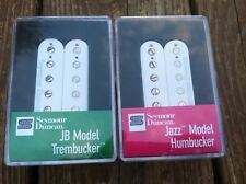 Seymour Duncan TB-4 JB SH-2 Jazz Hot Rodded PICKUP SET Trembucker White NEW