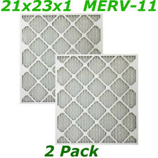 2 Pk Replacement For Furnace Filters 21x23x1 Merv 11 Allergen Air & Conditioner