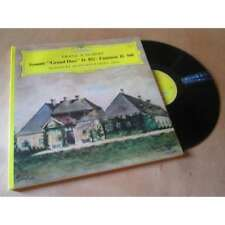 ALFONS & ALOYS KONTARSKY sonate grand duo d.812 - fantaisie d940 SCHUBERT DGG Lp