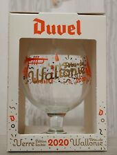 ♦NEW ! Verre Duvel Collector Fetes de Wallonie 2020 Duvel Glass beer Duvel glas♦