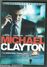 Michael Clayton (DVD, 2008, Widescreen) George Clooney Tilda Swinton