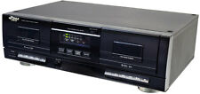 NEW Pyle PT659DU Dual Stereo Cassette Deck w/Tape USB to MP3 Converter