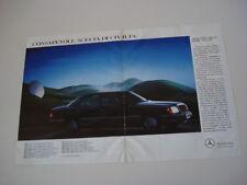 advertising Pubblicità 1991 MERCEDES BENZ 200 - 300