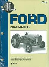 1957 58 59 60 61 62 FORD TRACTOR  SHOP MANUAL-600 601 700 701  800 801 900 901