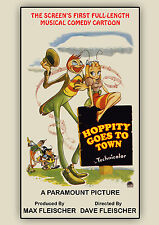 Hoppity Goes To Town (1941) Fleischer Brothers (DVD)
