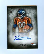 RONNIE HILMAN 2012 TOPPS INCEPTION AUTO RC BRONCOS
